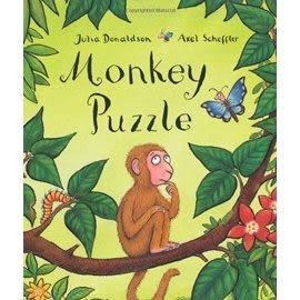 『繪本123‧吳敏蘭老師書單』-- MONKEY PUZZLE  /英文繪本《幽默.認識動物》