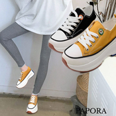 PAPORA繫帶增高厚底鞋搖搖鞋K8801(偏小)