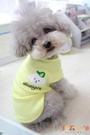寵物夏季衣服狗狗貓咪小型犬夏裝薄款背心【倪醬小鋪】