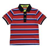 『小鱷魚童裝』條紋POLO衫(02號~20號)531114
