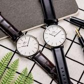 Daniel Wellington DW 瑞典簡約風格手錶 40mm/鱷魚皮壓紋/復古/0211DW DW00100025 左款