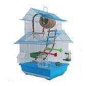 鳥籠 大號別墅雙層籠子文鳥珍珠小號鐵藝金屬小鳥 - 歐美韓