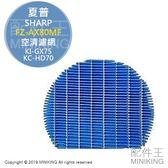 現貨 日本 SHARP 夏普 FZ-AX80MF 空氣清淨機 加濕濾網 KI-FX55 KI-GX75 KC-HD70