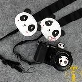 熊貓背帶微單單反拍立得相機背帶掛繩肩帶【雲木雜貨】