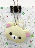 【震撼精品百貨】Rilakkuma San-X 拉拉熊懶懶熊~造型鑰匙頭-妹妹大頭#01752