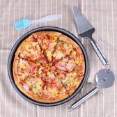 家用不沾披薩盤套裝烤箱烤盤6寸8寸9寸10寸pizza烤盤烘焙模具工具【七夕節八折】