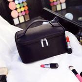 便攜化妝包小號韓國簡約手提大容量旅行化妝品收納包化妝袋洗漱包    西城故事