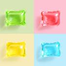 【30顆裝】8倍濃縮洗衣膠球 顏色香味隨機混裝 (洗衣精 洗衣球 衣物芳香劑)