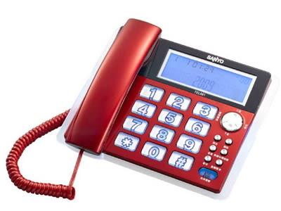SANYO 三洋 來電顯示有線電話機 TEL-981