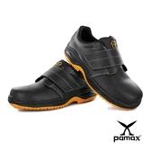 PAMAX 帕瑪斯【頂級專利抗菌氣墊、反光、防穿刺止滑安全鞋】鋼頭防滑工作鞋※ PA9502PPH男女