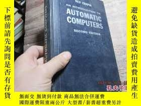 二手書博民逛書店an罕見introduction to automatic co