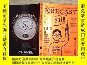 二手書博民逛書店THE罕見FORECAST 2018 7Y203004