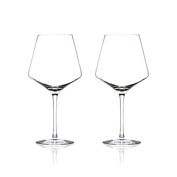 斯洛維尼亞 Rogaska Stop S/2 Red Wine 沈思者系列 手工水晶 紅酒杯 兩件組