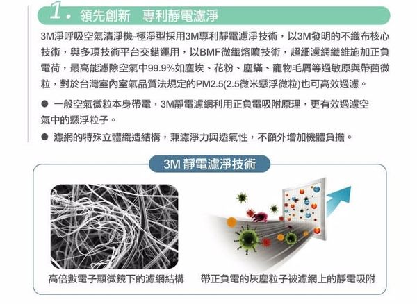 【水達人】3M空氣清淨機 淨呼吸 極淨型空氣清淨機FA-T10AB (6坪)(MIT)(節能省電標章)(過濾PM2.5)