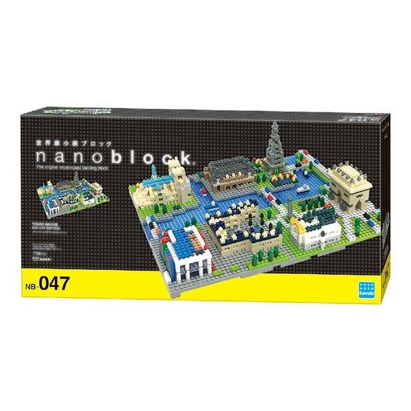 《 Nano Block 迷你積木 》【世界主題建築系列】NB-047 巴黎 ╭★ JOYBUS玩具百貨