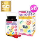 【FertiHouse 生育家】維生素D葉酸肌醇Q10膠囊6罐(6個月份)
