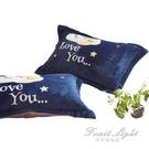 枕頭套 南極人 珊瑚絨枕套學生宿舍法蘭絨枕頭套單人珊瑚絨枕芯套 一對裝 果果輕時尚