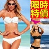 泳衣(兩件式)-比基尼音樂祭沙灘衝浪必備泳裝精美6色54g65[時尚巴黎]