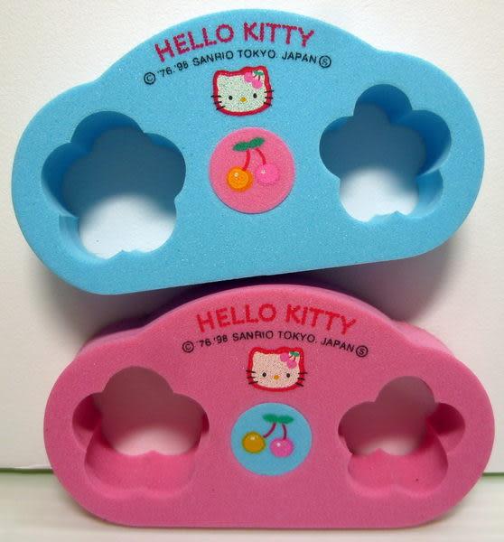 【震撼精品百貨】Hello Kitty 凱蒂貓~兩腳趾足部按摩器『粉藍』
