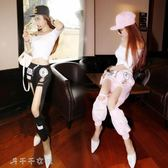 爵士舞服裝女性感成人舞蹈演出服現代舞夜店表演服舞台裝「千千女鞋」