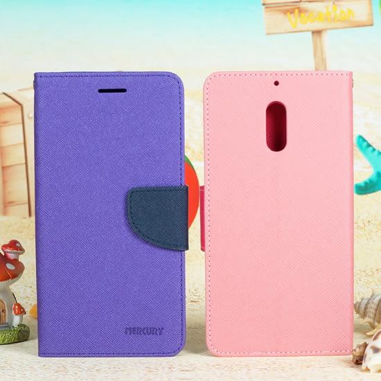 【特價商品】諾基亞 Nokia 6 韓風皮套/書本翻頁式側掀保護套/側開插卡手機套/斜立支架保護殼-ZX