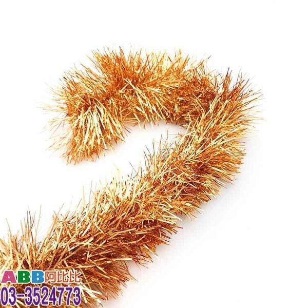 A1383-1★聖誕彩條_9*200cm_淺古銅#聖誕派對佈置氣球窗貼壁貼彩條拉旗掛飾吊飾