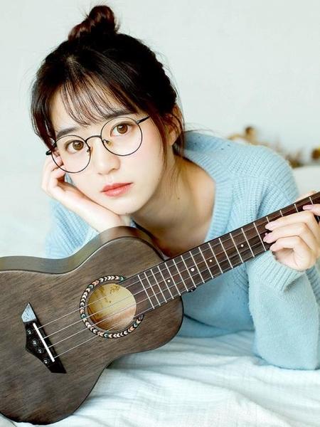 23寸單板尤克裏裏初學者成人女男烏克麗麗小吉他YYJ 傑克型男館