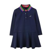 『小鱷魚童裝』經典LOGO針織洋裝(02號~06號)532311