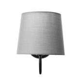 (組)特力屋萊特彎管壁燈灰色燈罩-18cm