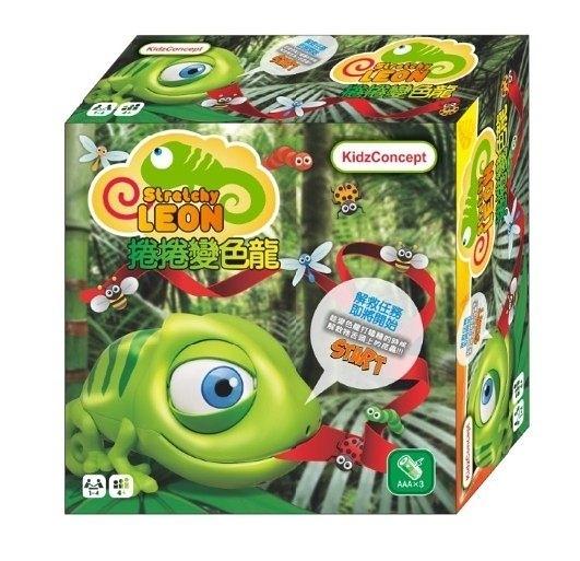 《 Stretchy Leon 》捲捲變色龍  ╭★ JOYBUS玩具百貨