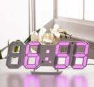LED鬧鐘靜音床頭創意時鐘簡約時尚掛鐘座鐘多功能電子鐘鬧鈴夜光 檸檬衣舎