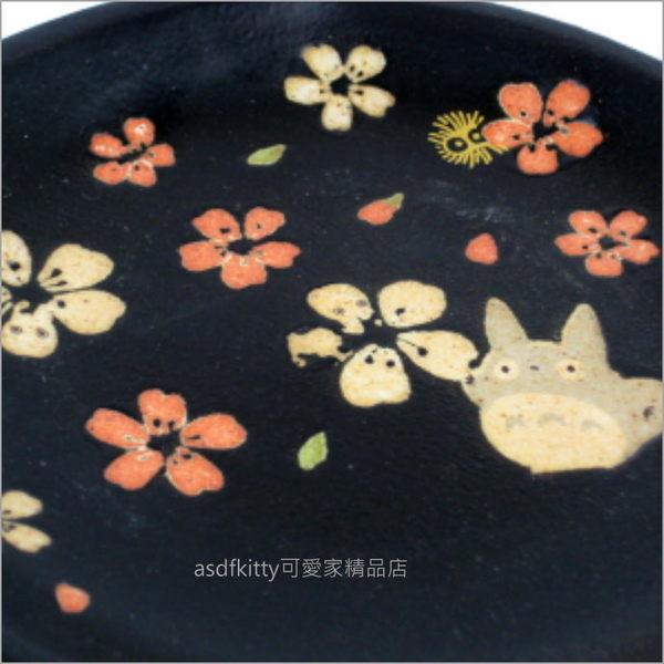 asdfkitty可愛家☆TOTORO龍貓美濃燒小碟子/醬料碟/點心皿-可裝小菜或點心--日本製