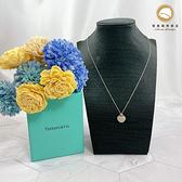 【雪曼國際精品】 TIFFANY & CO專櫃 925 純銀愛心項鍊、愛心牌~二手(9成新)