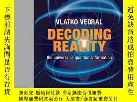 二手書博民逛書店Decoding罕見Reality-解碼現實Y436638 Vlatko Vedral Oxford Univ