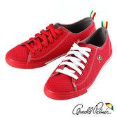Arnold Palmer - 俏麗潮流網狀格紋休閒帆布鞋 AP.116-紅