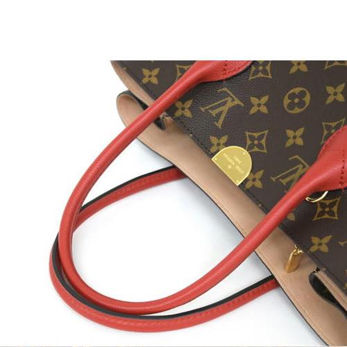 茱麗葉精品 全新精品 Louis Vuitton LV M41596 Flandrin 經典花紋兩用購物包 (預購)