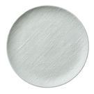 【Luzerne】陸升瓷器 Knit 麻布紋 26cm 圓盤-白 /KT1201026