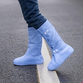 注塑硅膠防水防雨鞋套 雨天防滑加厚耐磨底鞋套男女學生 兒童鞋套「錢夫人小鋪」