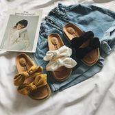 拖鞋女平底正韓夏季新款軟底外穿厚底人字拖百搭蝴蝶結沙灘涼拖鞋三角衣櫥