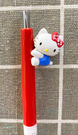 【震撼精品百貨】凱蒂貓_Hello Kitty~日本SANRIO三麗鷗 KITTY 造型自動鉛筆-側坐#70259