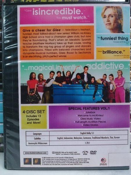挖寶二手片-628-001-正版DVD*影集【歡樂合唱團 第一季(上+下)-10碟】繁體中文/英文字幕選擇