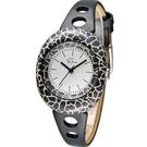 Epico 橢圓系列復古長頸紋腕錶 EP-3GRBKL