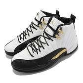 Nike 籃球鞋 Air Jordan 12 Retro Royalty 男 黑 白 金扣 AJ12 Taxi 休閒鞋 【ACS】 CT8013-170