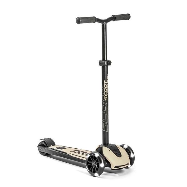 奧地利 Scoot&Ride Cool 飛哥滑板車 Kick5炫輪滑板車-米色[衛立兒生活館]