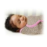 《美國Summer infant》聰明懶人純棉包巾-加大(粉紅豹) ㊣原廠授權總代理公司貨