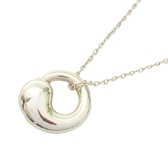 Tiffany & Co 蒂芬妮 Elsa Peretti系列Eternal Circle小太極項鍊 925純銀