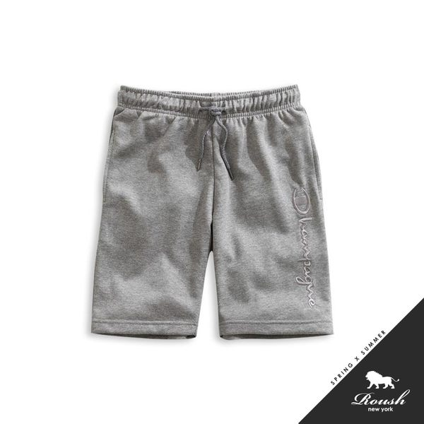 【Roush】 翻玩CHAMPION立體刺繡短棉褲 -【920337】