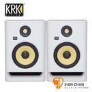 KRK Rokit RP7G4 主動式監聽喇叭 7吋錄音室專用(白色/一對二顆)台灣公司貨保固
