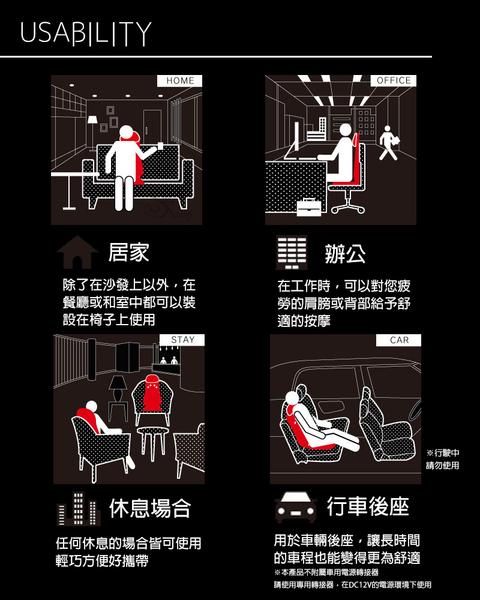 Doctor air 3D按摩椅墊