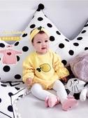 嬰兒衣服秋裝連身衣包屁網紅長袖哈衣寶寶可愛【奇趣小屋】